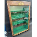 "A rare Desmo garage distributor/retailer's single door cabinet, 24"" w x 36"" h x 7 1/2"" d."