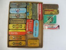 A tray of puncture repair outfits including John Bull, Midland, Dunlop etc. the Tip Top example in