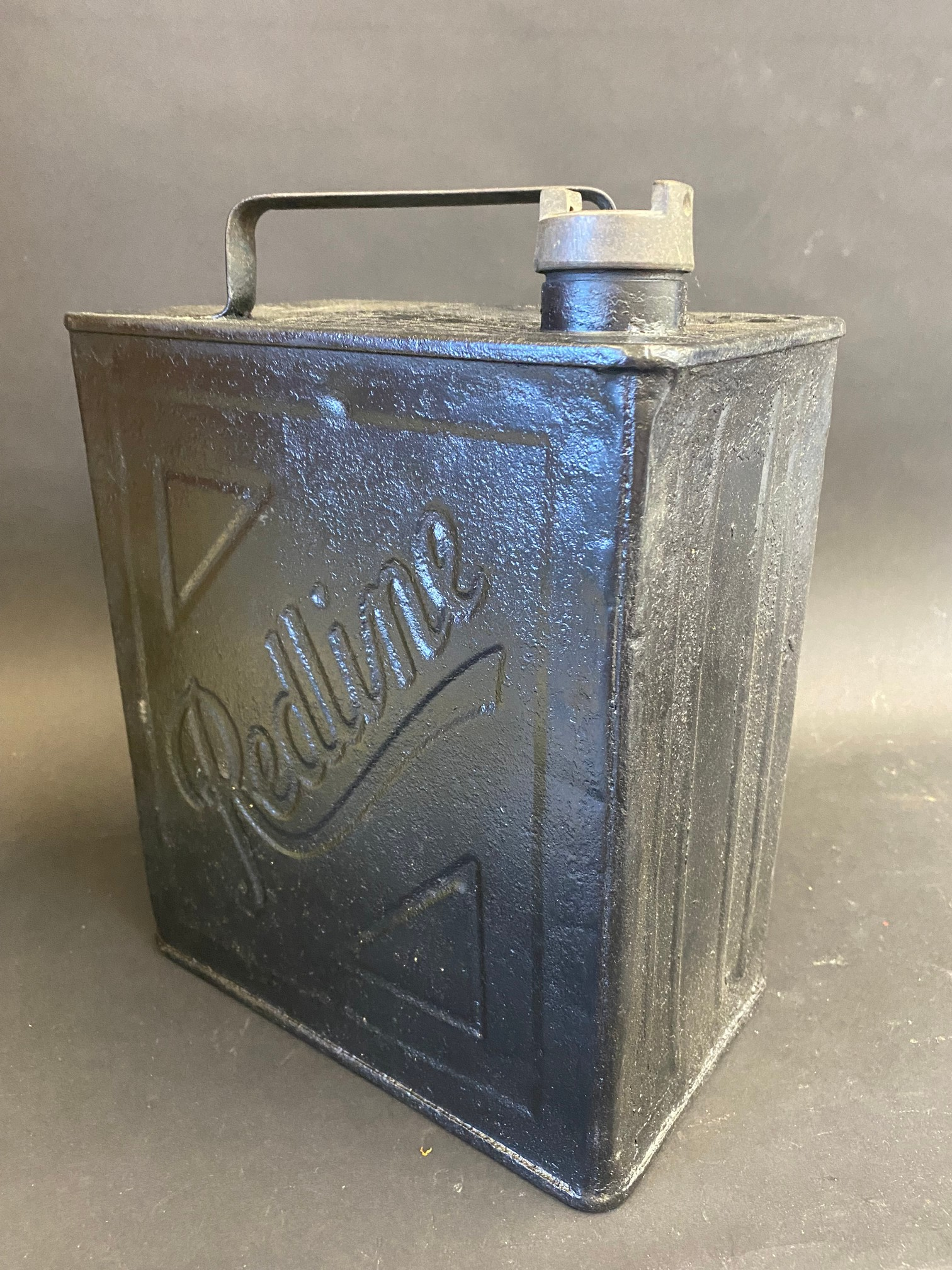A Redline two gallon petrol can by Valor, indistinctly dated. - Image 2 of 4