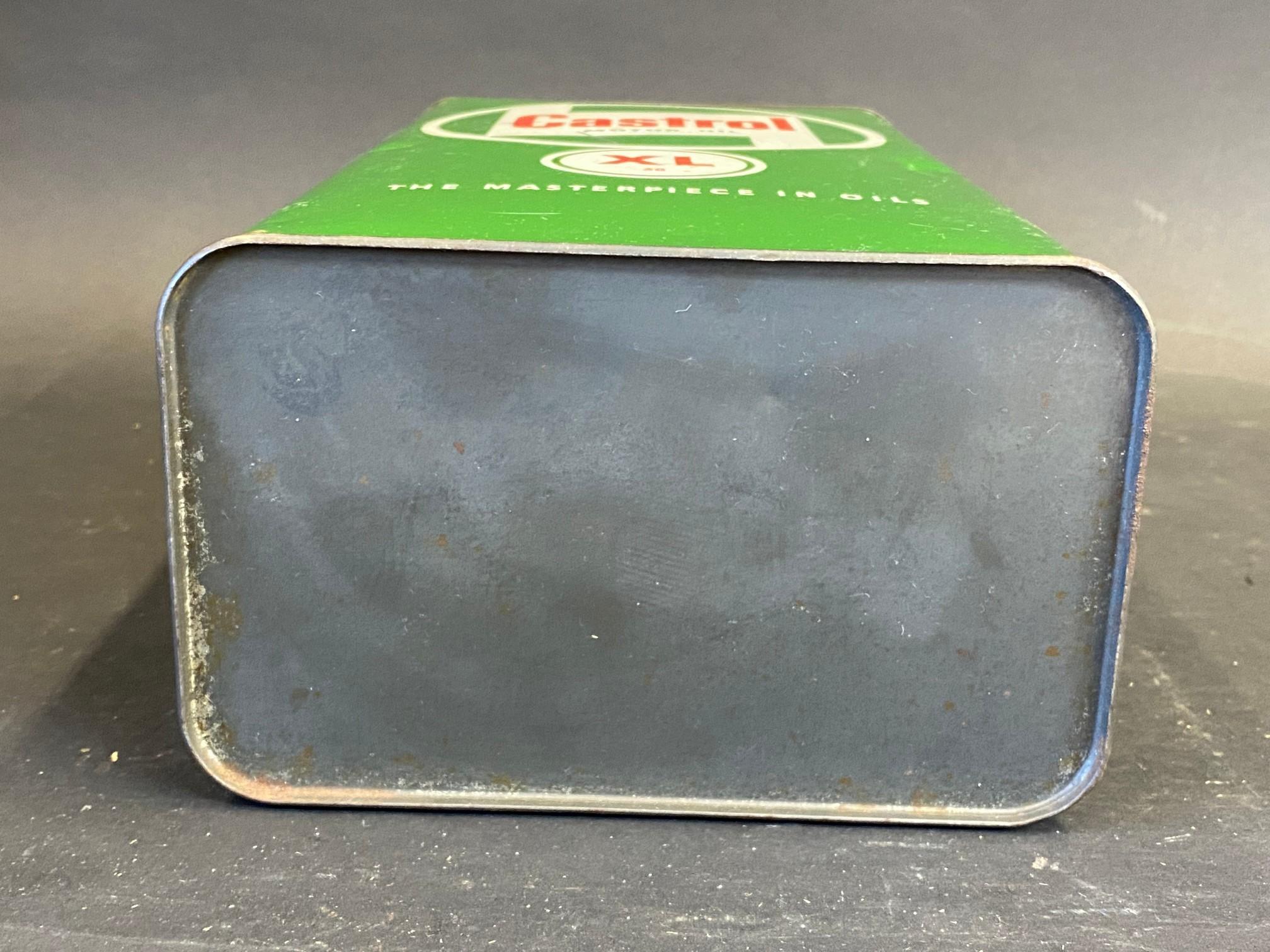 A Castrol Motor Oil XL grade gallon can. - Image 4 of 4
