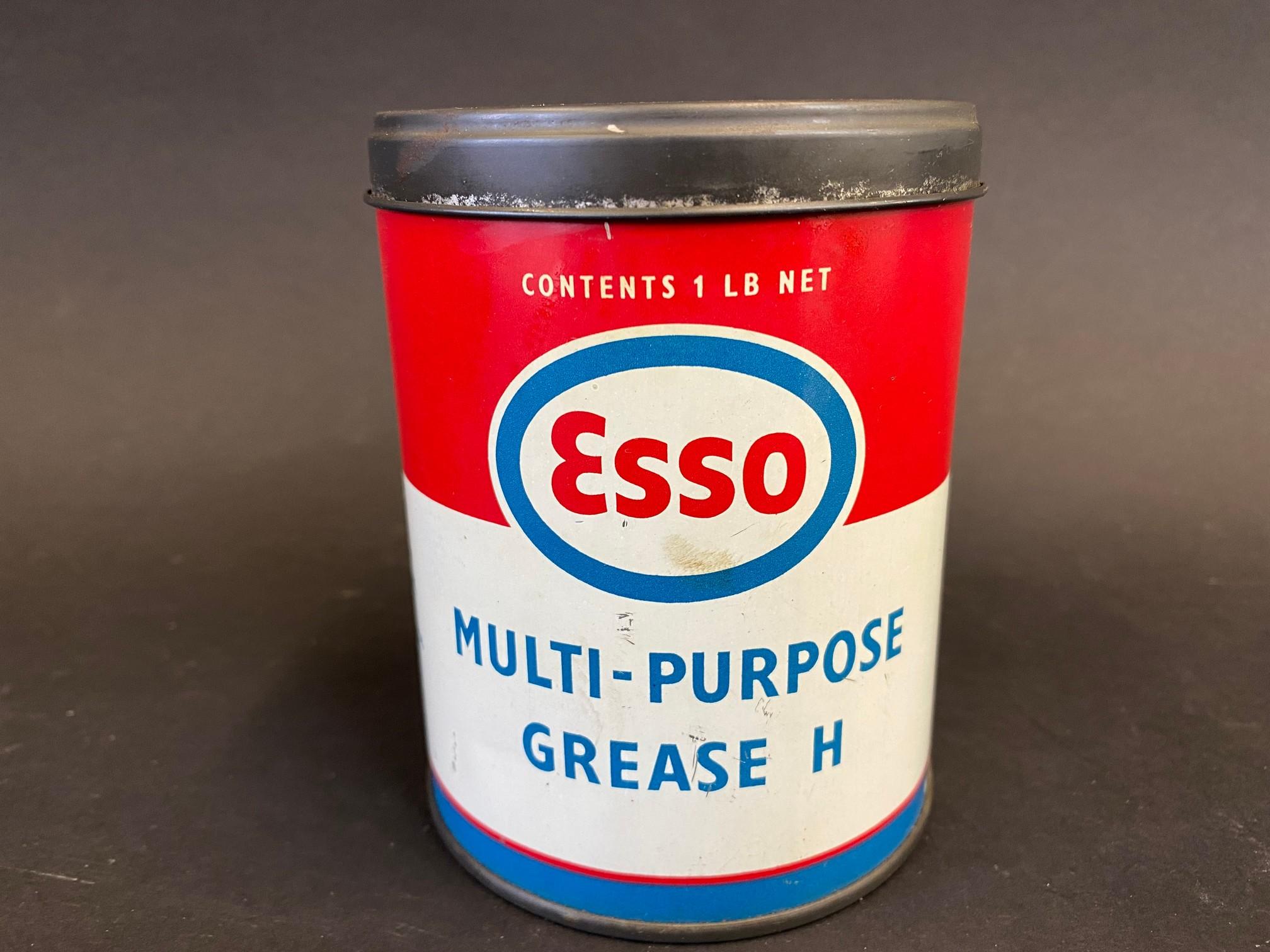 An Esso Multi-Purpose Grease 1lb tin in good condition.