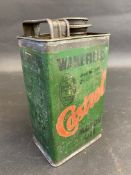 An early Wakefield Castrol Motor Oil 'Gearease' rectangular quart can.