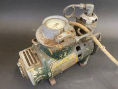 A Dunlop Junior Compressor, a rarely seen piece.