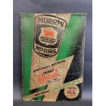 "A Wakefield Patent Castrol 'Morris Motors' tin advertising sign, 13 1/2 x 19""."