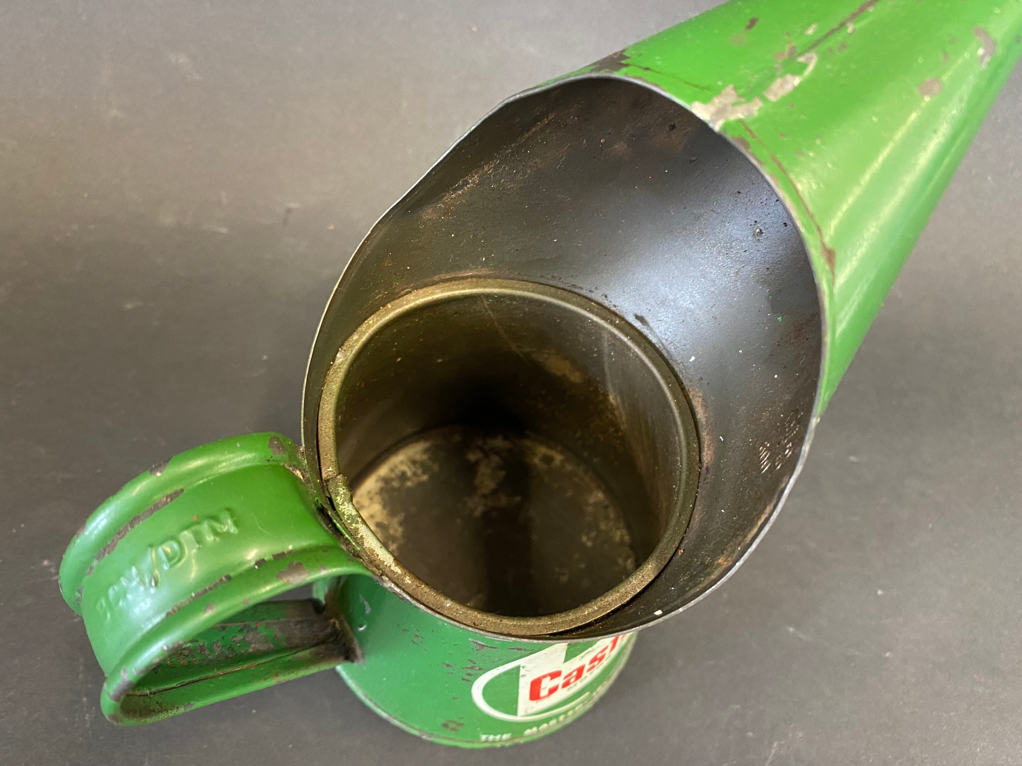 A Castrol Motor Oil half pint measure, dated 1965. - Image 3 of 4