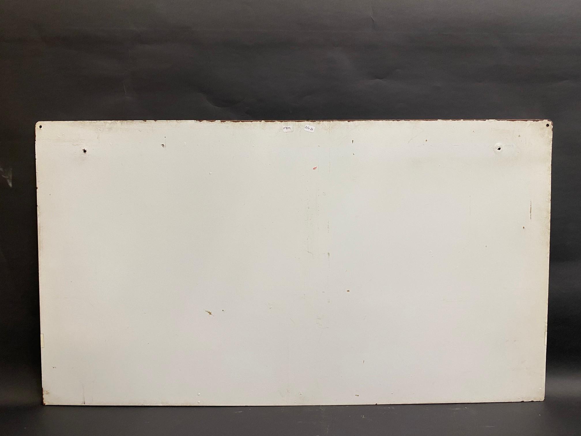 """A Motorcraft fan belts garage workshop hanging display sign, 36 x 20"""". - Image 2 of 2"""