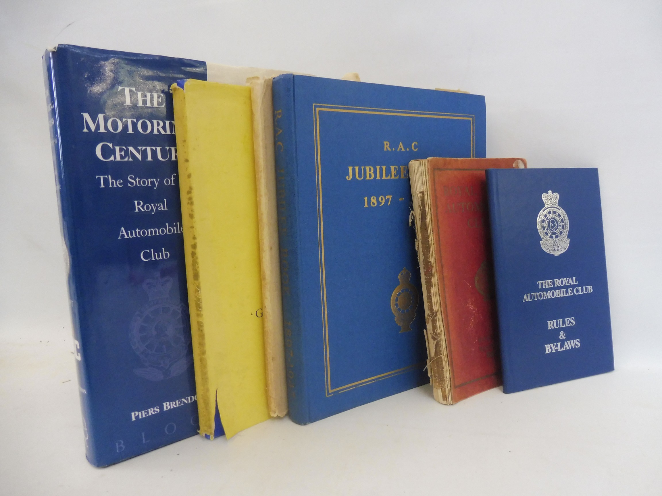 A Royal Irish Automobile Club Official Handbook, 1935-36, The Jubilee Book of the RAC 1947 and three - Image 2 of 6