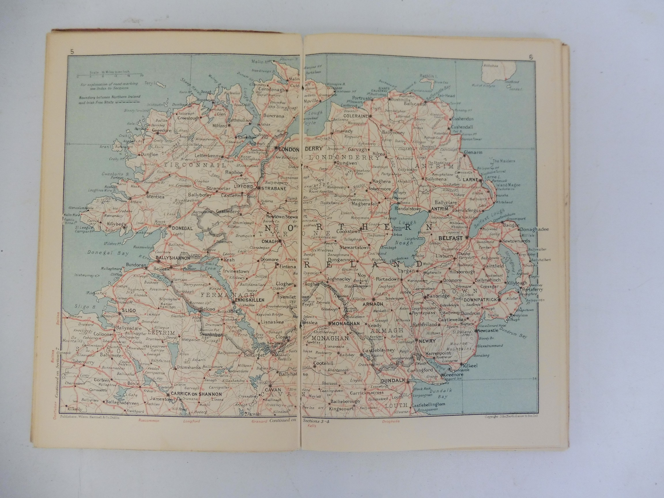 A Royal Irish Automobile Club Official Handbook, 1935-36, The Jubilee Book of the RAC 1947 and three - Image 6 of 6