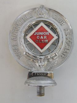 Automobilia - a significant private collection of RAC and AA badges, mascots and literature