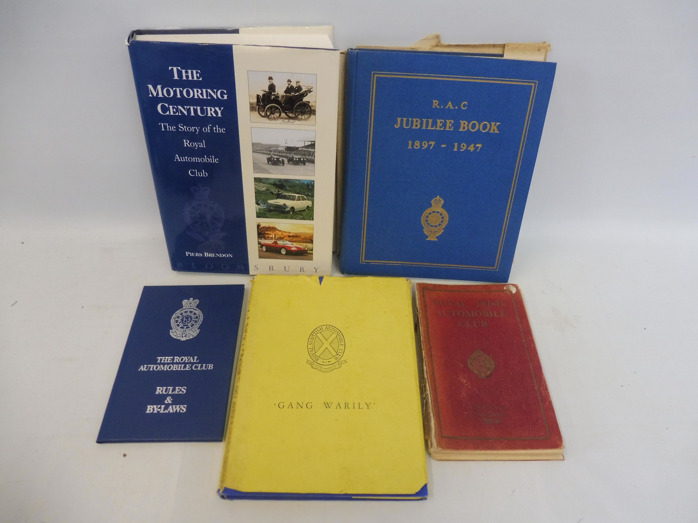 A Royal Irish Automobile Club Official Handbook, 1935-36, The Jubilee Book of the RAC 1947 and three - Image 3 of 6