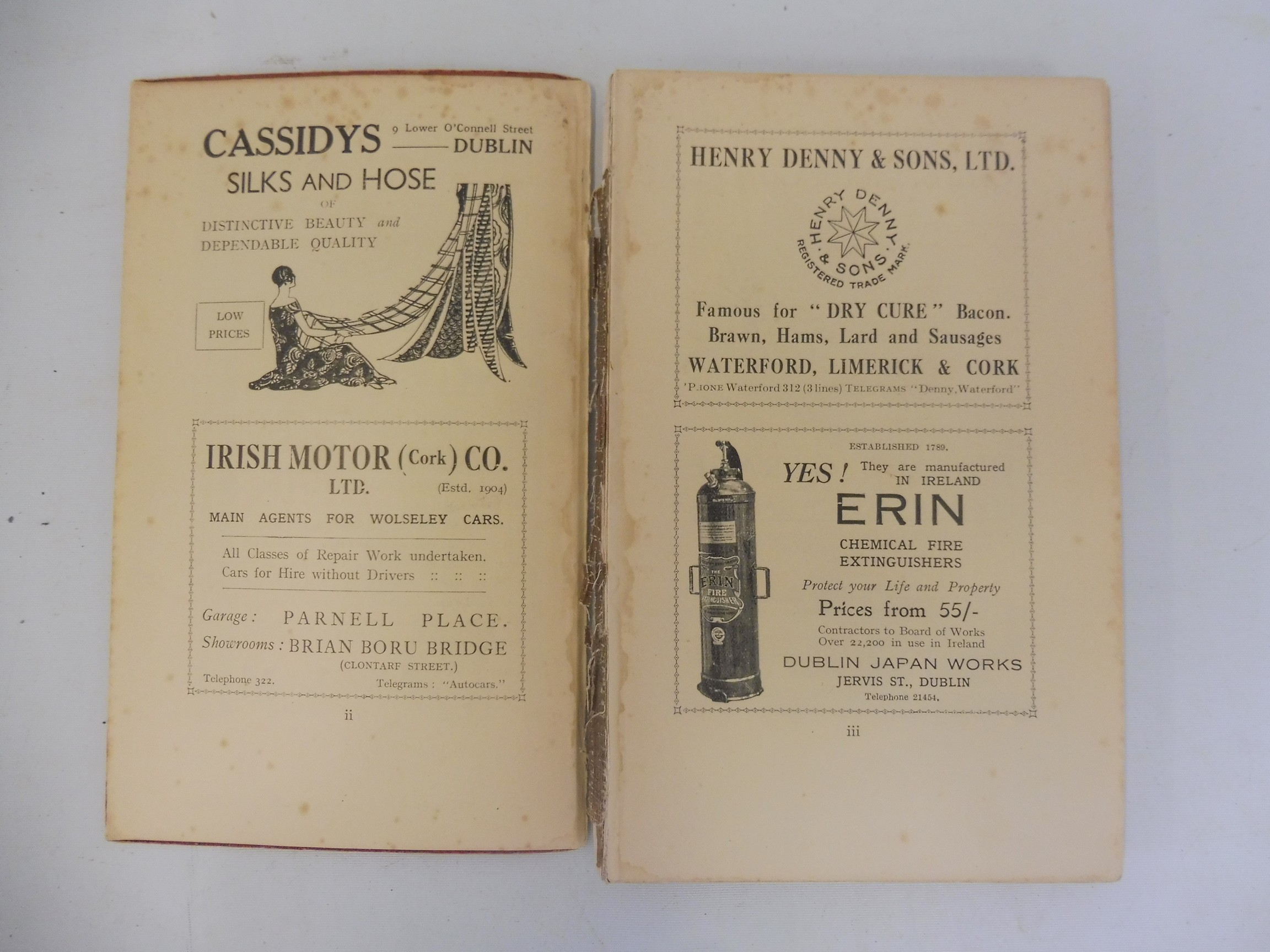 A Royal Irish Automobile Club Official Handbook, 1935-36, The Jubilee Book of the RAC 1947 and three - Image 4 of 6