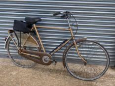 A German 'Gazelle' sport primeur gentleman's bicycle, still with original perspex spat to the rear
