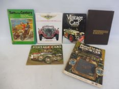 Lagonda - An Illustrated History 1900-1950 by Geoffrey Seaton plus assorted other motoring volumes.