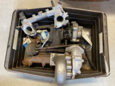 Two Austin Metro turbos, one reconditioned.