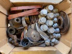 A large tray of Austin 7 spares.