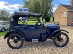 1924 Austin 7 Scoop Scuttle Pramhood Chummy – same family ownership since 1966