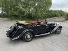 1937 Brough Superior 6-cylinder 3.5 litre Drophead Coupe – The subject of a recent full restoration