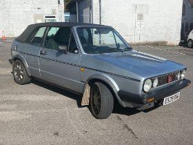 1987 Volkswagen Mk. I Karmann Cabriolet Clipper