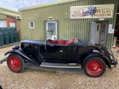 1931 Riley 9 Mk. IV Two-Seater and Dickey – two family owners from new! To be sold