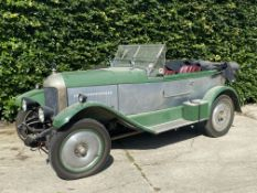 1926 Morris 'Super Sports Style' Special