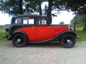 1935 Morris 8 Saloon