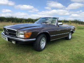 1980 Mercedes 350SL R107 Cabriolet