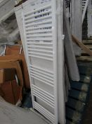 Loco straight towel radiator 1400 x 500, ex-display and boxed. Please note, this lot may contain