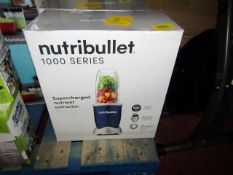 | 5X | NUTRI BULLET 1000 SERIES | UNCHECKED AND BOXED | NO ONLINE RE SALE | SKU C5060191464734 | RRP