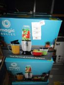 | 4X | THE MAGIC BULLET BLENDER | UNCHECKED AND BOXED | NO ONLINE RESALE | SKU C5060191467360 |