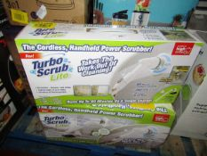 | 1X | TURBO SCRUB LITE CORDLESS HAND HELD POWER SCRUBBER | UNCHECKED AND BOXED | SKU C5060191467476