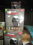 | 6X | POWER AIR FRYER 5L | UNCHECKED AND BOXED | NO ONLINE RE-SALE | SKU C5060191466936| RRP £69.99