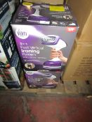 | 2X | VERTI STEAM PRO | UNCHECKED AND BOXED | NO ONLINE RE-SALE | SKU - | RRP £39.99 | TOTAL LOT