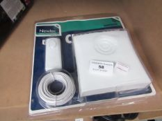 Newlec chime kit, unchecked and packaged.