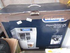 Delonghi Primadonna deluxe X5 lattecrema system - Untested & Boxed - £559