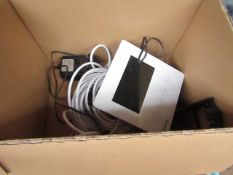 Swann door bell with camera & control pannel - Untested & Boxed