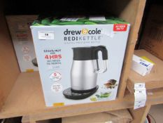 | 1X | DREW AND COLE REDI KETTLE | UNCHECKED AND BOXED | NO ONLINE RESALE | SKU C5060541513587 | RRP