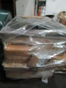 | 1X | PALLET OF MADE.COM B.E.R FURNITURE PARTS, WHICH COULD CONSISIT OF FLAT PACK FURNITURE, BEDS