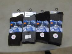 12 X Pairs of Fresh Feel Merino Wool Socks Size 6-11 New & Packaged
