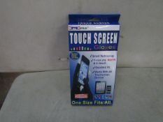 5 X Touch Screen Gloves (Works With All Touch Screen Devices ) All New & Boxed