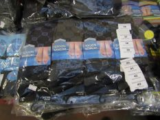 PK of 12 Mens Design Socks Size 6-11 New & Packaged