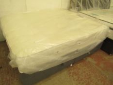 | 1X |REST ASSURED FIRMER 1400 POCKET KING SIZE MATTRESS WITH OTTOMAN DIVAN BASE | EX DISPLAY |