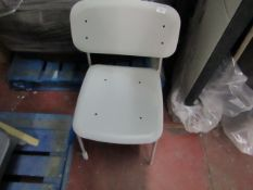 | 1 X | DESIGNER DINING CHAIR | NO MAJOR DAMAGE | RRP CIRCA - |