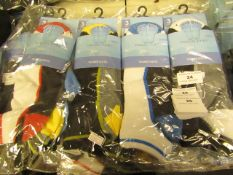 12 X Pairs of Mens Trainer Socks Size 6-11 New in Packaging
