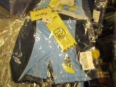 9 X Childs Playshoes Swim Shorts Aged 3-4yrs all New in Packaging