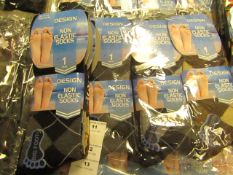12 X Pairs of Mens Design Socks Size 11-14 New in Packaging