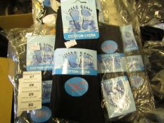 12 X Pairs of Fresh Feel Cotton Lycra Mens Socks Size 6-11 New in Packaging