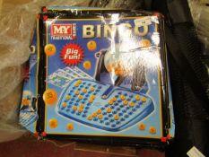 2 x My Tradiona Bingo Games. Boxes are Slightly Damaged