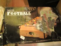 Tabletop Football Game. Boxed but unchecked