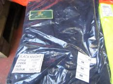 Black Knight - Navy Trousers - Size 42 - Unused & Packaged.