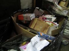 | 1X | PALLET OF APPROX 40-50 RAW CUSTOMER RETURNS WHICH APPEARS TO BE MAINLY MADE UP OF PAINT